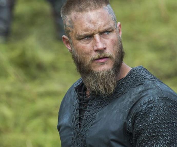That star became a household name with his role as Ragnar in *Vikings*.