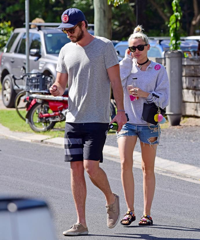 The reconciled couple were spotted spending time together in Byron Bay on April 29.