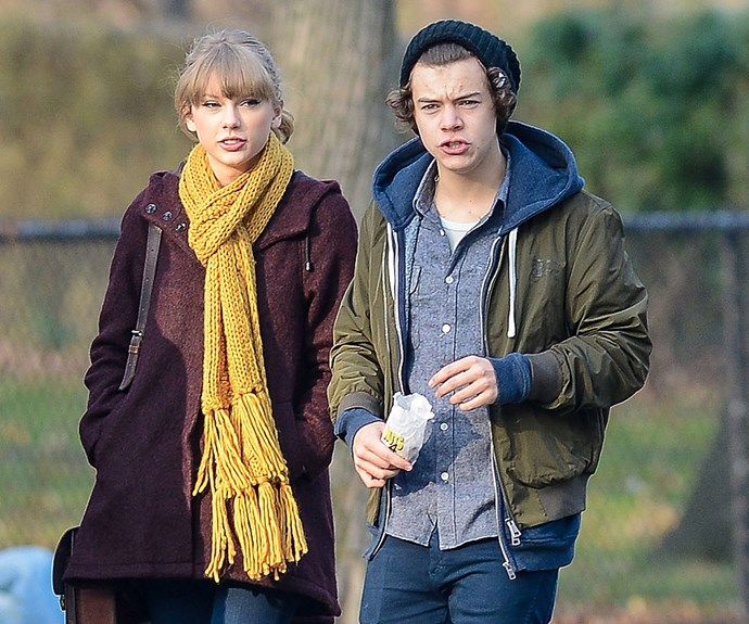 Though the romance was short-lived (they dated for less than two months), Harry Styles was one of Taylor's most hyped about relationships. Along with *I Knew You Were Trouble*, the One Direction star is said to be the subject of several songs on Taylor's 2012 album *Red*.