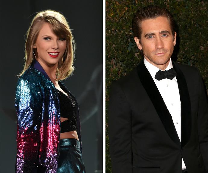 Though she only dated Jake Gyllenhaal for four months (the actor reportedly broke up with her via text, ouch!) Taylor sure got a lot of material for her album. The songs *We Are Never Getting Back Together* and *The Moment I Knew* are rumoured to be about the 35-year-old.