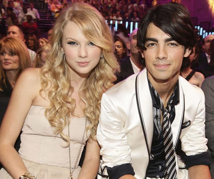 Joe Jonas was Taylor's first famous boyfriend. The former Disney star brutally ended the relationship with a 27-second phone call. But it appears the exes have made up since then - Taylor even set Joe up with one of her besties, Gigi Hadid and enjoyed double dates with Calvin last year.