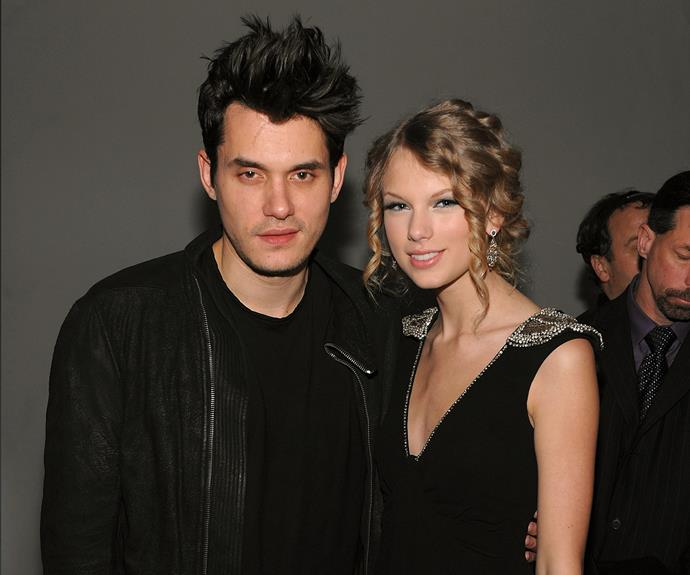"The pair dated for just under four months, but John Mayer certainly made an impact on Taylor, inspiring her song *Dear John* (and probably many others)! Taylor was only 19 at the time, and the 12-year age gap proved to be a strain on the romance. One particularly telling lyric from the song included, ""Don't you think I was too young to be messed with? The girl in the dress cried the whole way home."""