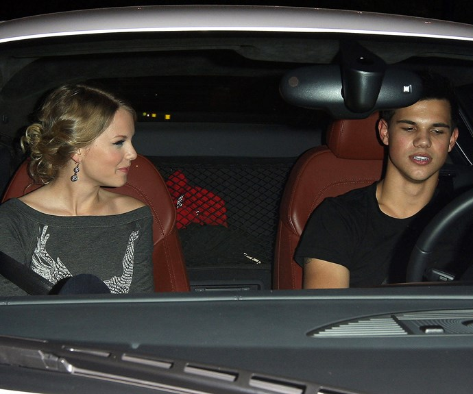 It seemed sharing a first name didn't bode well for this relationship! The singer's whirlwind romance with Taylor Lautner began when they met on the set of their film *Valentine's Day*.