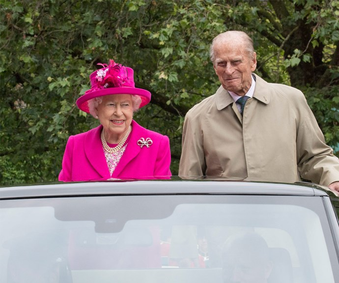 Queen Elizabeth, pictured with her husband Prince Philip, had a marvelous time at her birthday celebrations, and wanted to thank everyone.