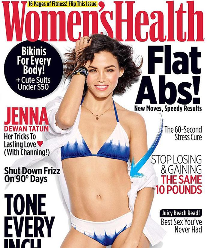 The mother-of-one stunned on the cover of the women's glossy.