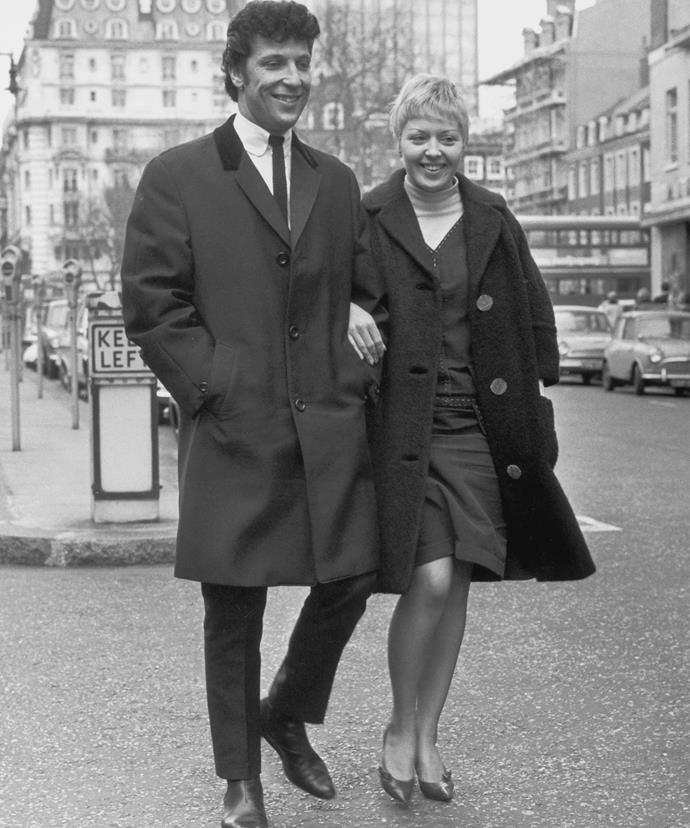 Sir Tom and his wife Linda were together for 60 years before her death in April.