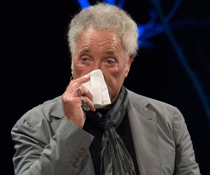 The singer broke down at Hay Festival earlier this month while discussing his wife's death.