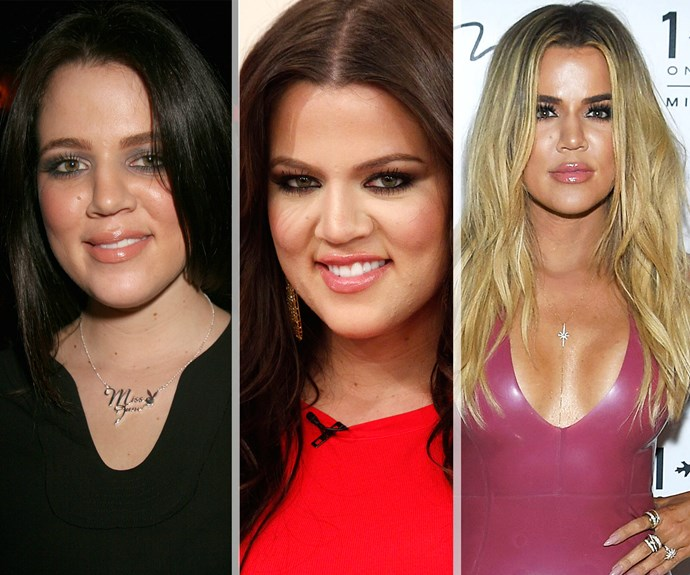 Since she burst onto our screens back in 2007, reality star Khloe Kardashian has transformed infront of our eyes!