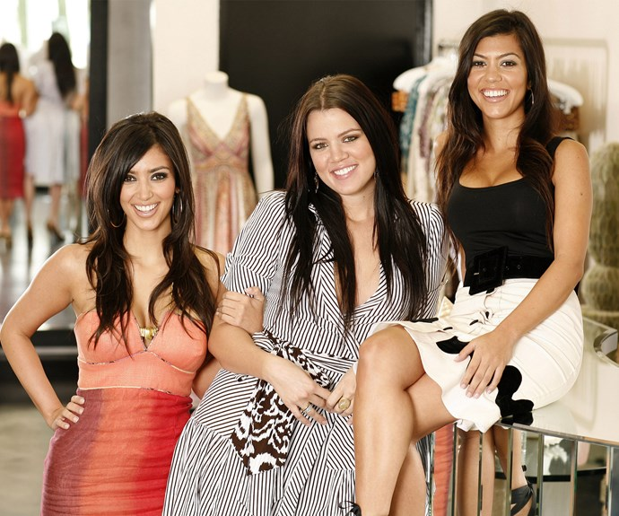 To think way back when, in 2006, she was an ordinary gal living in Calabasas and the most important thing in her life was her family, especially sisters Kim and Kourtney and their clothing store Dash!