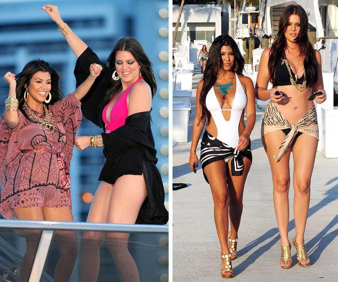 Showing the haters who's boss, Koko and her big sis Kourtney scored their own spin off... and a reason to flaunt their curvalicious bikini bods!