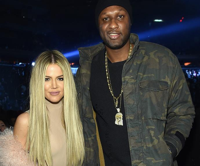 "While she and Lamar may not be a couple, during his struggles Khloe stepped up and mused, ""I'm just there to support and care for him."""