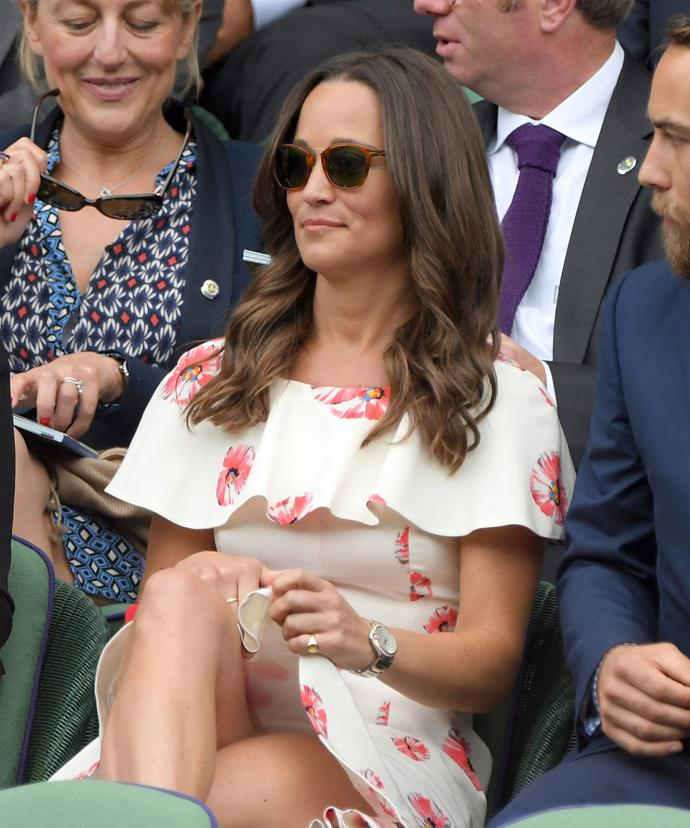 Watch where you're adjusting that thing, Pippa!