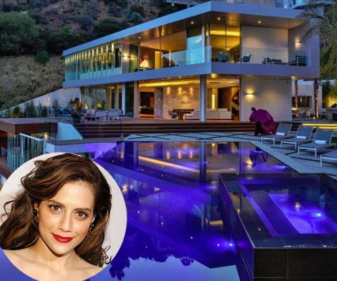 Brittany Murphy's former Los Angeles home, where both she and her husband Simon Monjack died, is back on the market for $24.9 Million.