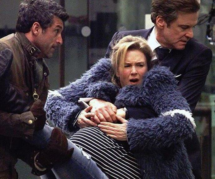 Jack (Patrick Dempsey) and Mark (Colin Firth) will have to fight for Bridget's affections.