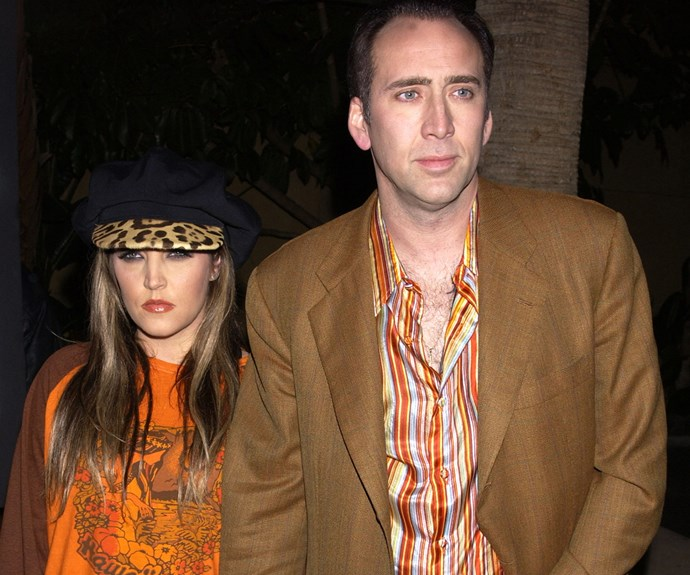**Four months:** Lisa Marie Presley's third marriage was also her shortest. The daughter of Elvis married Nicolas Cage in August 2002 after the pair met at a friend's house party in 1999. They called it quits in November 2002.