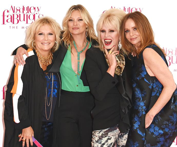 Fabulous red carpet attendees included fellow star Kate Moss and Stella McCartney.