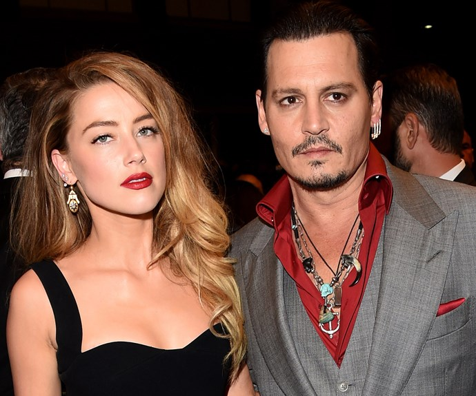Johnny's divorce turned ugly when the actress filed for a restraining order against her estranged husband.