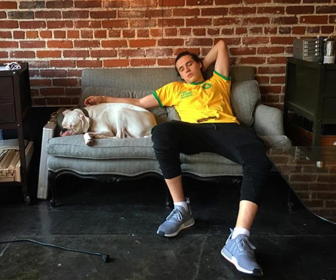 If you're falling asleep on the job like Brooklyn Beckham it's time to get some more Z's!