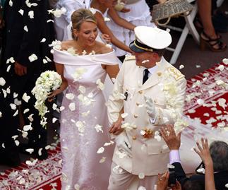 Prince Albert & Princess Charlene celebrate their fifth anniversary