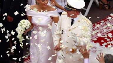 Prince Albert & Princess Charlene celebrate their fifth anniversary