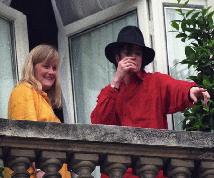 Debbie and Michael were married in November 1996, with Debbie giving birth to the couple's son Prince three months later.