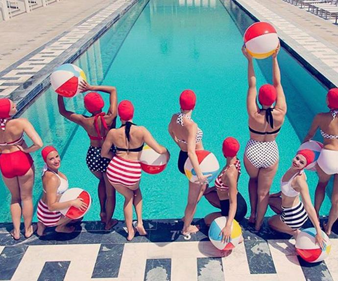 Reese Witherspoon's 4th of July fun took a decidedly retro turn with this vintage-themed snap.