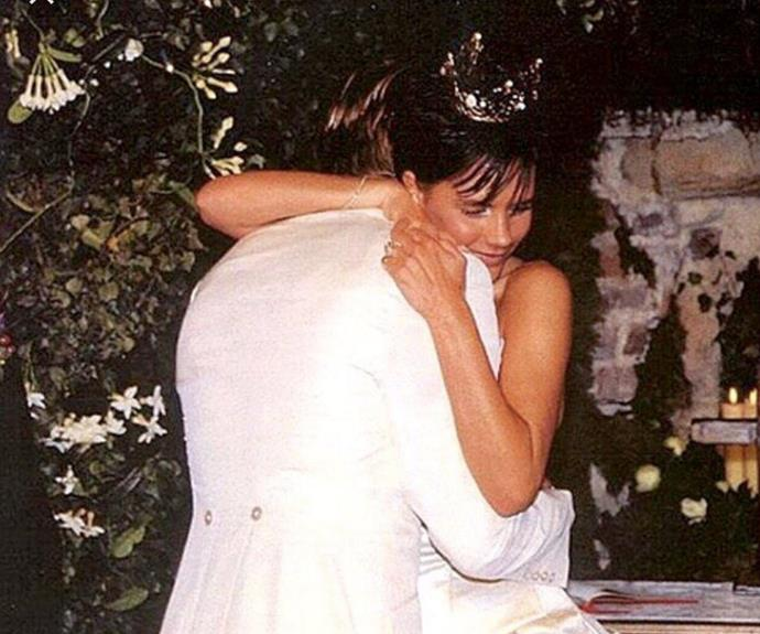 "This week, David and Victoria Beckham celebrated their 17th wedding anniversary. To mark the momentous occasion, both Posh and Becks shared throwback snaps from their 1994 wedding with adorable captions that may just bring a tear to your eye... ""I feel so loved and truly blessed. My best friend, my love. The kindest man who inspires me every day. Happy Anniversary to the best husband and daddy in the world!! EVER!"" wrote VB."