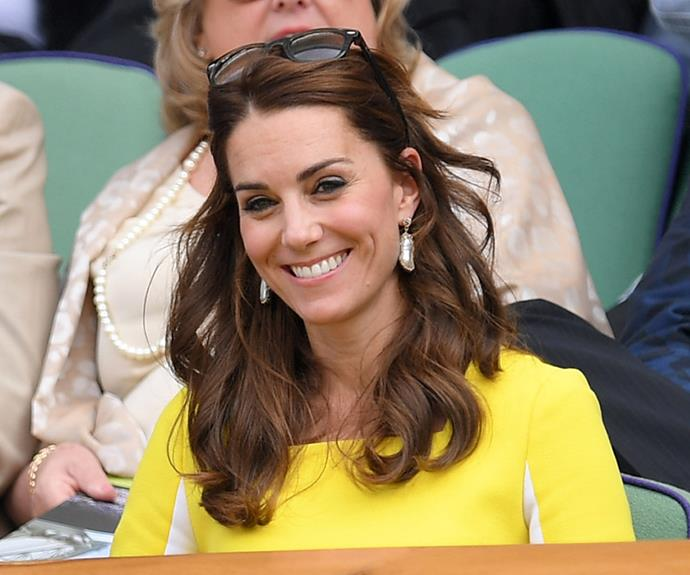 And Kate's look was glamorous as always.