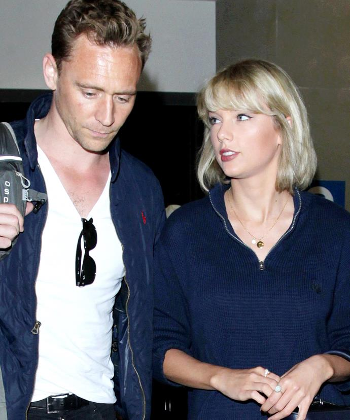 The couple - who have since been crowned 'Hiddleswift' - were spotted leaving LAX on Wednesday to board their flight to Australia.