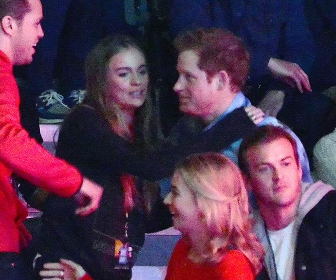 Cressida dated Harry for two years, after his split from Chelsy.