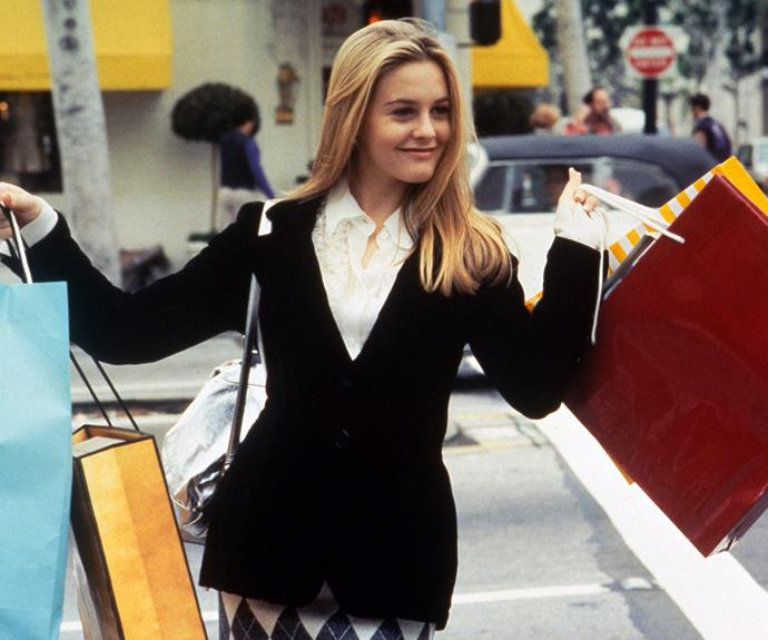 The star rose to fame when she starred in the 1995 teen comedy, *Clueless*.