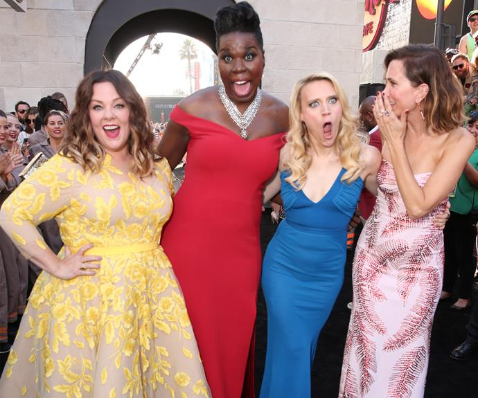 """Who You Gonna CaIl!?"" Ghostbusters, which is out in cinemas from this Thursday, had a stunning red carpet premiere in Hollywood over the weekend."