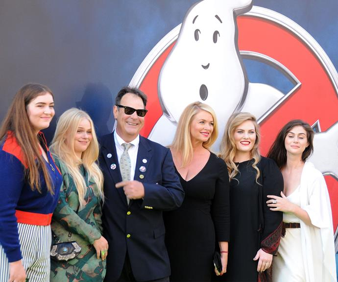 Original cast member from the 1984 *Ghostbusters* film, Dan Aykroyd, looked every bit as dashing as he did when the movie first hit our screens all those years ago.
