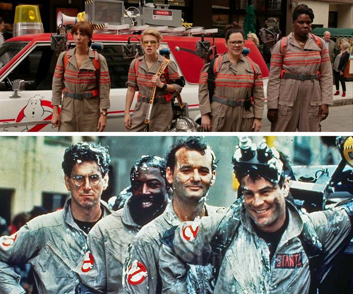 We're guessing the girls  may have another classic on their hands! **Don't forget: Who You Gonna CaIl?  Ghostbusters is in cinemas this Thursday!**