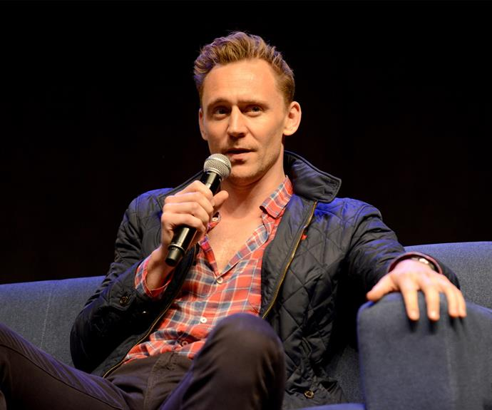 The Scottish DJ said if Tay was happy in her new relationship with Tom Hiddleston, pictured, she should be focusing on that.