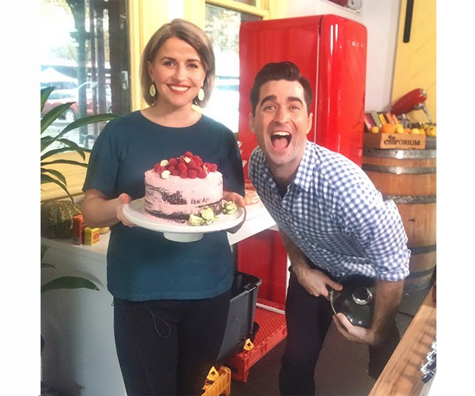 **Emma Dean and Lynton Tapp** Our favourite foodie duo, Emma and Lynton, faced off in the season five final. Whilst Emma's Plight of the Bees dessert scored four more points to earn her the trophy, the two remained best of mates and recently started filming *My Market Kitchen* together.