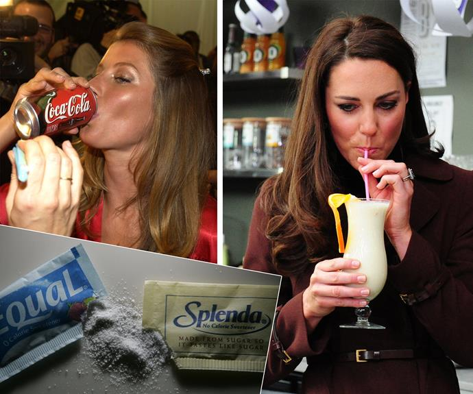 Natural sugars are the crowning jewel... so give artificial sweeteners the flick!