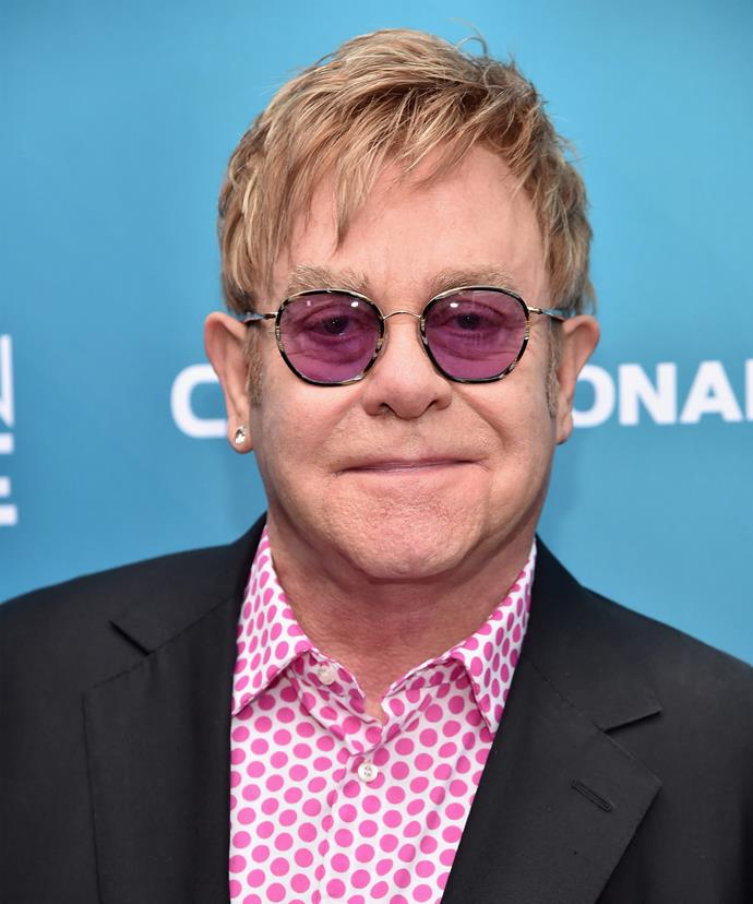 Elton John was very close with Princess Diana when she was doing her work with AIDS victims.