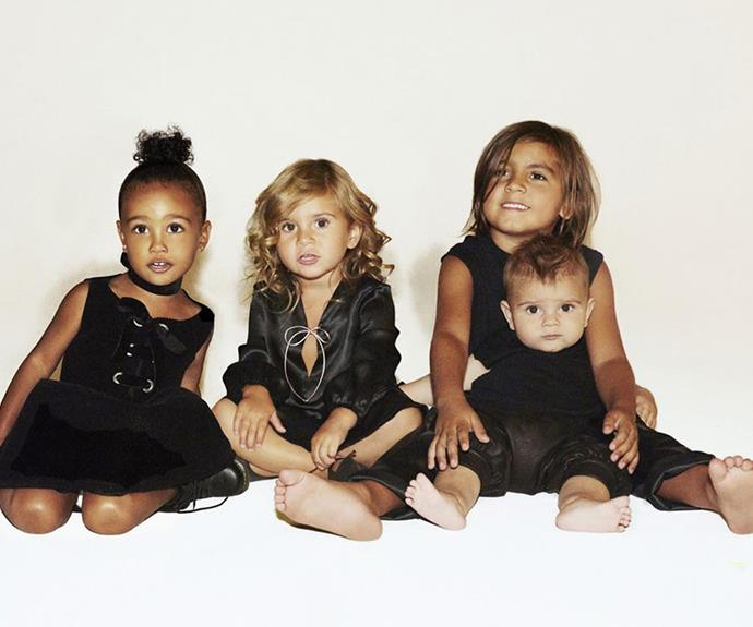 The Kardashians have produced some Hollywood's sweetest cutie pies!