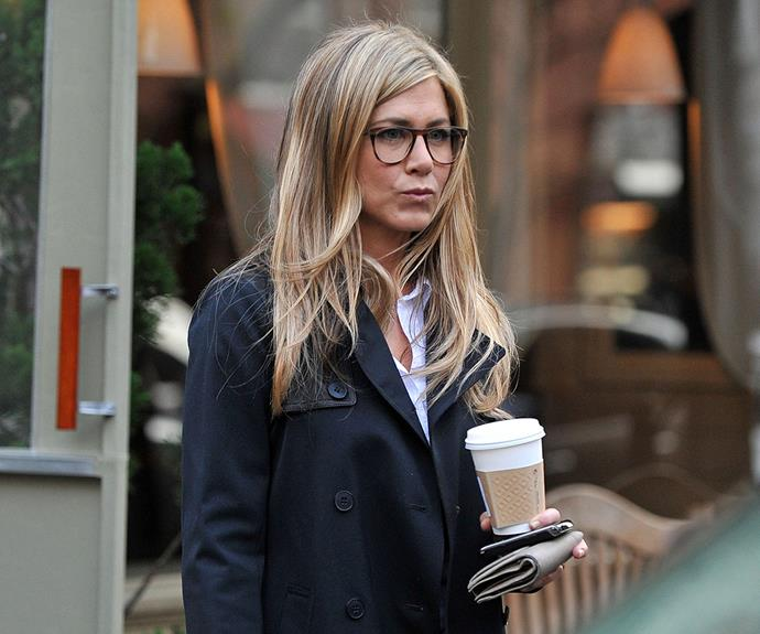 Jennifer Aniston knows a thing or two about coffee's beauty benefits!