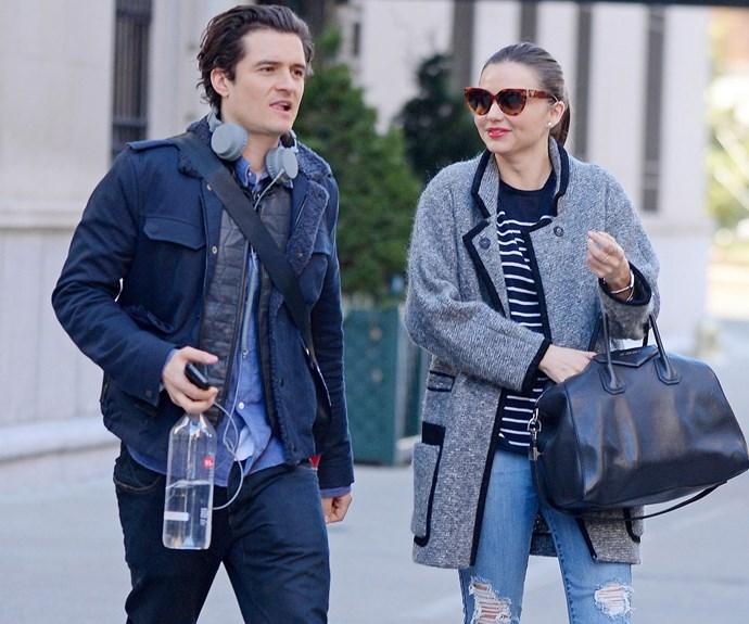 Miranda was previously married to Orlando Bloom.