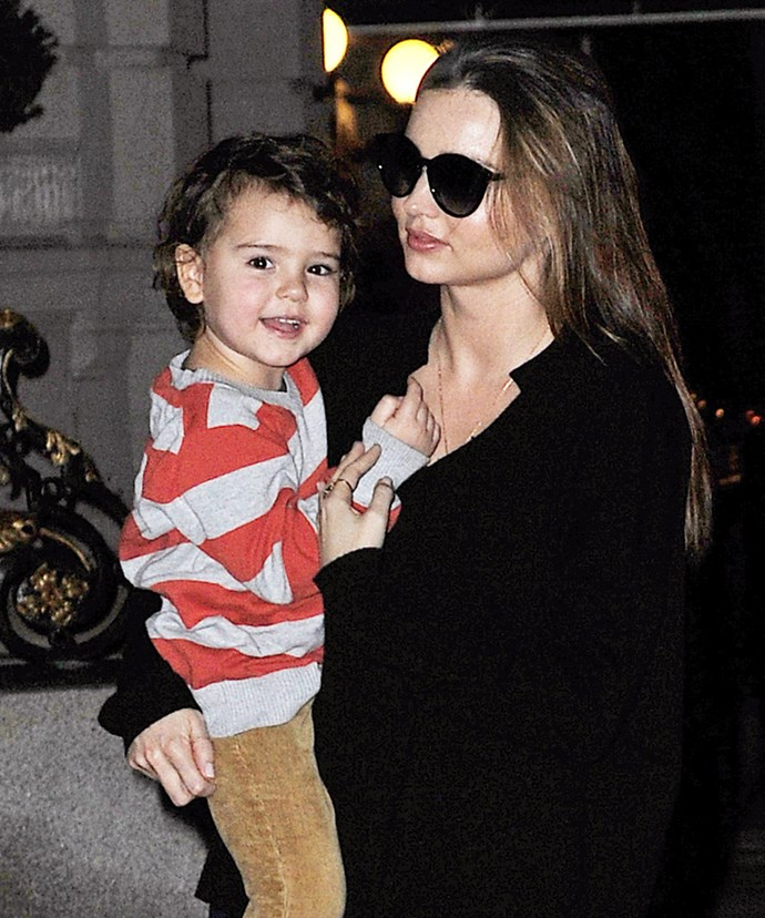 Evan will be step daddy to little Flynn Bloom, from Miranda's previous relationship with ex-husband Orlando Bloom.