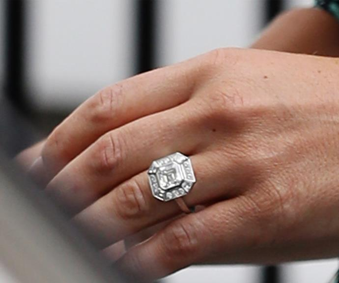 Inquiries of vintage-inspired rings have spiked since the engagement.