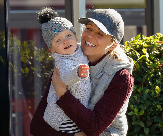 Carrie Bickmore and Evie