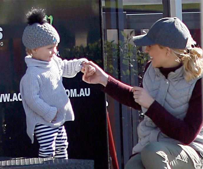 The presenter always keeps her mornings free so she can spend time with her little girl.