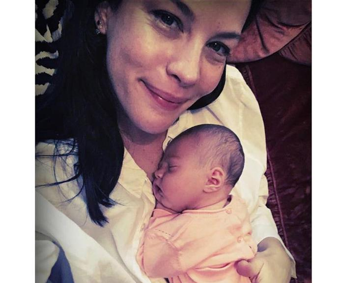 "What a cherub! Actress Liv Tyler has shared this precious snap of her third child, [daughter Lula Rose Gardner.](http://www.womansday.com.au/celebrity/hollywood-stars/liv-tyler-and-david-gardner-welcome-second-child-a-girl-15896|target=""_blank"")"
