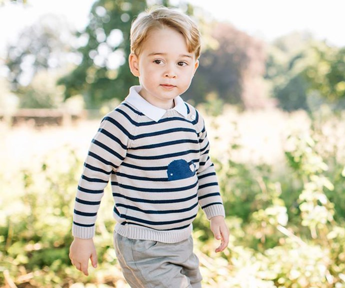 "The beautiful shots, which were shared on the Royal Family's official Facebook page, were taken at the Cambridge's Norfolk home in mid-July. ""The Duke and Duchess hope that people will enjoy seeing these new photographs. They would like to thank everyone for all the lovely messages they have received as Prince George celebrates his third birthday,"" the official statement said at the time. (Image/Matt Porteous)"