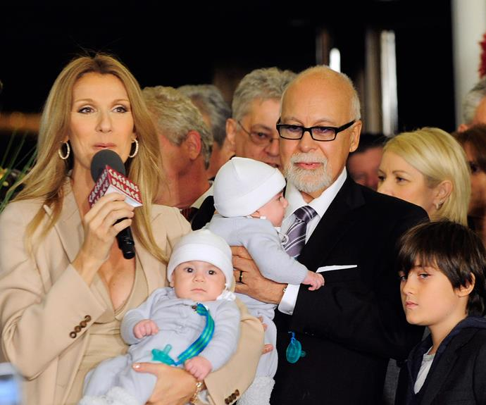 Celine broke the news of her husband's death to her kids in the most beautiful way.