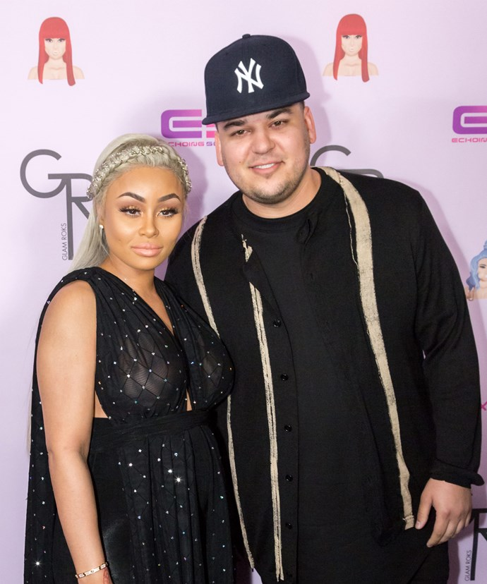 have rob kardashian and blac chyna broken up now to love
