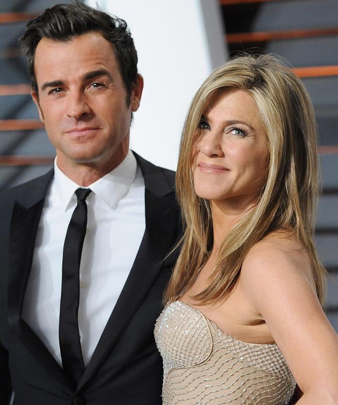 Jen found happiness in hubby Justin Theroux.